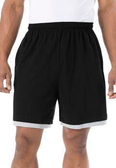 Hangdown Lightweight Shorts , BLACK, hi-res