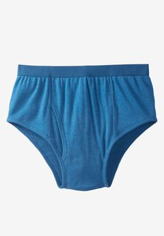 Color cotton Classic Briefs by Kings' Court®,