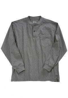 Long-Sleeve Henley Shirt by Wrangler®,