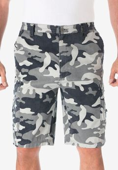 Canyon Cargo Shorts, STEEL CAMO, hi-res