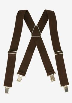 Elastic Work Suspenders, ESPRESSO, hi-res