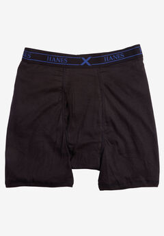 Hanes® X-Temp® Boxer Briefs 3-Pack Underwear, BLACK