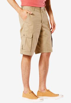 Classic Fit Cargo Shorts by Dockers®, NEW BRITISH KHAKI, hi-res