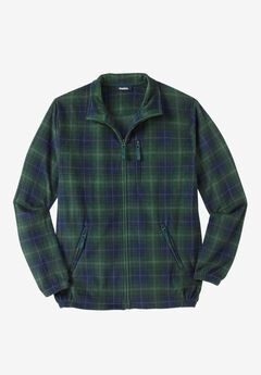 Explorer Fleece Jacket, HUNTER PLAID
