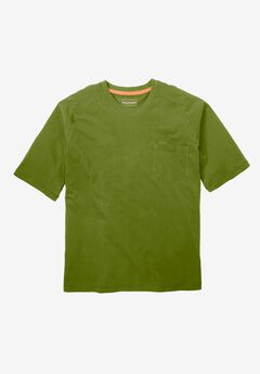 Resistance Collection Short Sleeve Performance Tee by Boulder Creek®, CEDAR GREEN, hi-res
