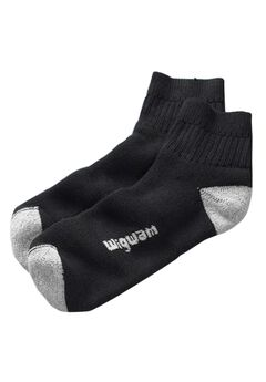 Wigwam® 2-Pack 1/4 Length Diabetic Socks, BLACK, hi-res