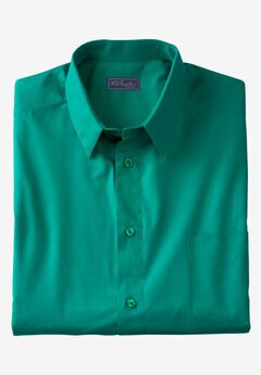 No Hassle® Long-Sleeve Dress Shirt by KS Signature, GREEN, hi-res