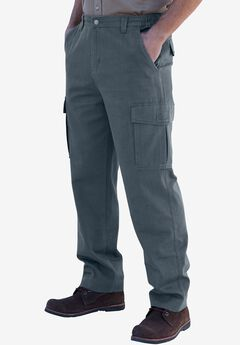 Renegade Cargo Pants with Side Elastic by Boulder Creek®, CARBON