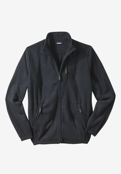 Explorer Fleece Jacket, BLACK, hi-res