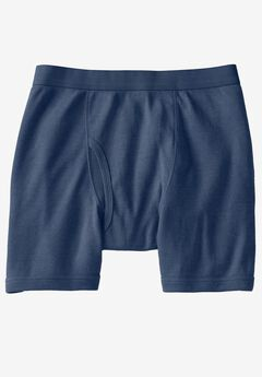 Color Cotton Midlength Briefs by Kings' Court®,