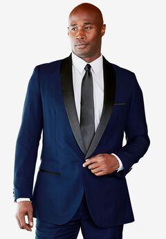 Tuxedo Jacket by KS Signature, BLUE