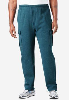 Fleece Cargo Pants,