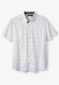 Sailboat Print Woven Shirt by Nautica®,