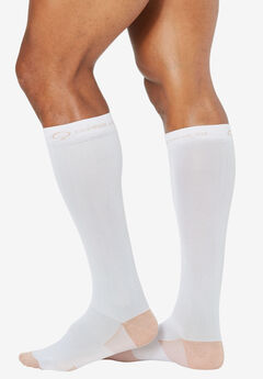 Energy Compression Socks by Copper Fit™, WHITE, hi-res