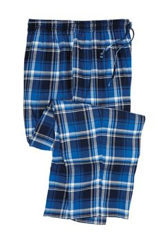 Flannel Plaid Lounge Pants, TWILIGHT PLAID, hi-res