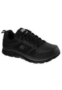 Work Relaxed Fit Flex Advantage Slip-Resistant Sneaker by Skechers®,