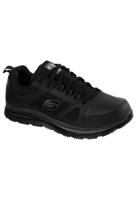 Work Relaxed Fit Flex Advantage Slip-Resistant Sneaker by Skechers ... 0086ae32281a