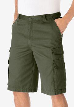 12' Cargo Shorts, OLIVE, hi-res