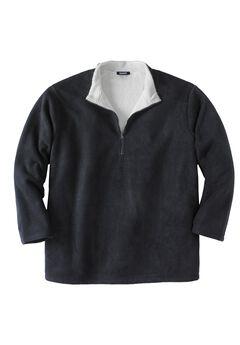 Explorer Fleece  ¼  Zip with Sherpa Collar,