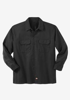 Work Shirt by Dickies®, BLACK, hi-res