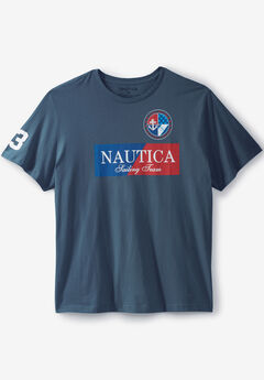 Color Block Sailing Team Graphic T-Shirt by NAUTICA®,