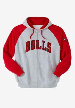 NBA® Classic Full-Zip Hoodie, BULLS, hi-res