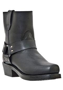 Dingo 7' Harness Side Zip Boots, BLACK, hi-res