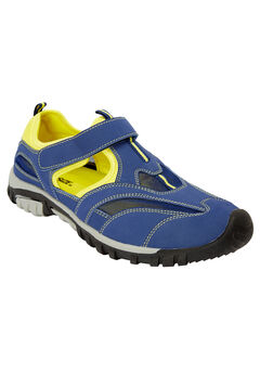 Sport Sandal , MIDNIGHT NAVY NEON YELLOW, hi-res