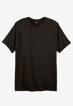 Hanes® X-Temp Crewneck Tee 3-pack, BLACK, hi-res