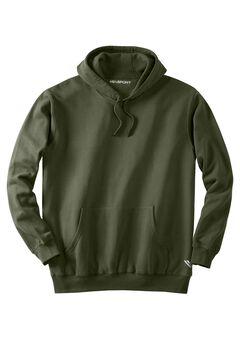 Wicking Fleece Hoodie by KS Sport™, OLIVE, hi-res