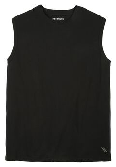Comfort Cool Muscle Tee by KS Sport™, BLACK, hi-res