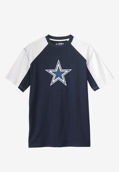 NFL® Pieced Ringer T-Shirt, COWBOYS, hi-res