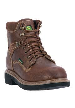 John Deere® 6' All Around Waterproof Steel Toe, TOASTED WHEAT, hi-res