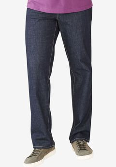 Relaxed Fit 5-Pocket Stretch Jeans by Liberty Blues®,