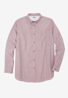 Wrinkle-Resistant Long Sleeve Sport Shirt,