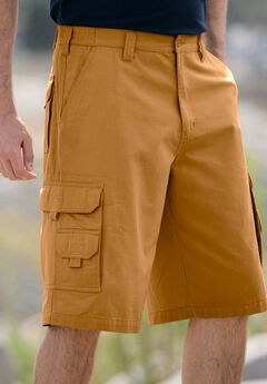 Marine 12' Side Elastic Cargo Shorts by Boulder Creek®,