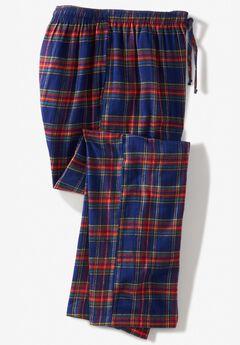 Flannel Plaid Lounge Pants,