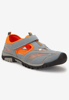Sport Sandal , GREY ORANGE