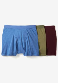 Cotton Boxer Brief 3-Pack,