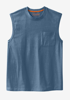 Heavyweight Pocket Muscle Tee by Boulder Creek®,
