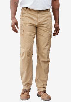 Resistance Collection Cargo Pant by Boulder Creek®, DARK KHAKI, hi-res