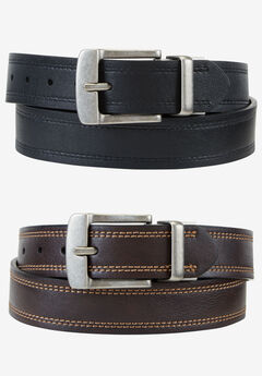 Cut Edge Reversible Belt by Levi's®, BLACK BROWN, hi-res
