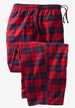 Flannel Plaid Lounge Pants,