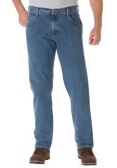 Advanced Comfort Jeans by Wrangler®, VINTAGE STONE, hi-res