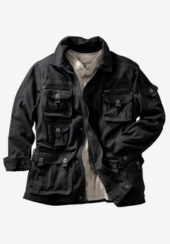 Multi-Pocket Jacket by Boulder Creek®, BLACK, hi-res