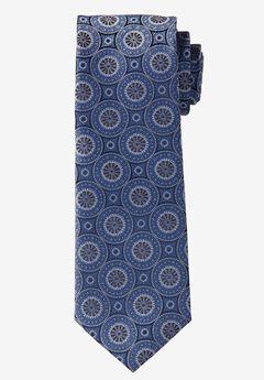 Extra Long Medallion Tie ,