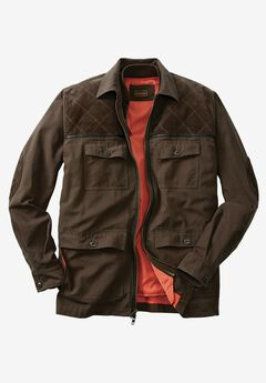 3-in-1 Field Jacket by Boulder Creek®, DARK BROWN