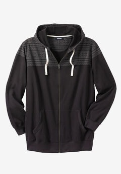 Snow Lodge Hoodie, BLACK