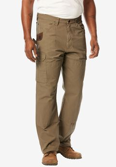 Cargo Pants by Wrangler®, BARK, hi-res