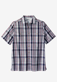 Short-Sleeve Madras Sport Shirt,